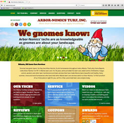 Arbor-Nomics Fresh Website